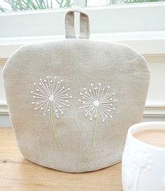 tea pot cozy - can embroider or felt one
