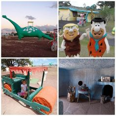Have a yabba dabba doo time at this theme park based on The Flintstones! Dinosaur | Fred & Barney | Car | Interior