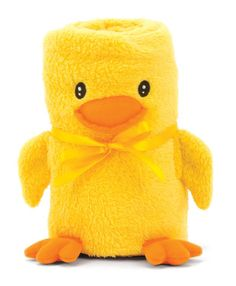 Baby Ducks are just the cutest things ever! Make a blankie look like a duck and it's double the awesome!