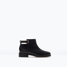 ZARA - SALE - LEATHER ANKLE BOOT