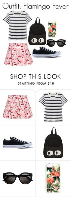 """""""day"""" by stylosenoi on Polyvore featuring moda, RED Valentino, Converse e Madewell"""