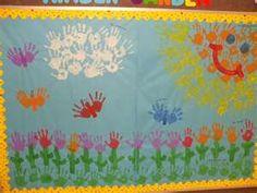 spring bulletin board #3