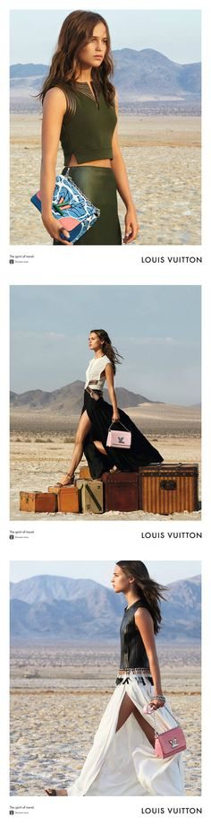 Alicia Vikander with the Twist handbag for the Spirit of Travel Campaign from Louis Vuitton  #LV