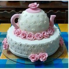 olha que lindo essa inspiração para o bolo do seu chá de panela .
