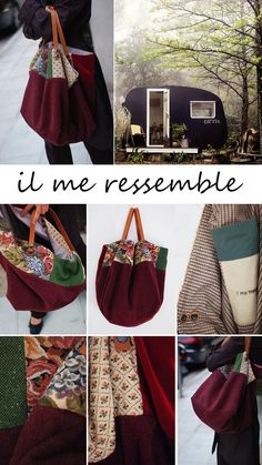 french tote bag on http://ilmeressemble.com/