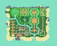 animal crossing island layout Animal Crossing: New Horizon Designs Animal Crossing 3ds, Animal Crossing Qr Codes Clothes, Animal Crossing Wild World, Map Layout, Les Reptiles, Ac New Leaf, Motifs Animal, Budget Planer, Island Map