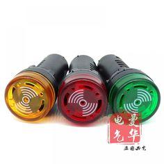 voyant signal lampe Flash buzzer 12 V 24 V 110 V 220 V