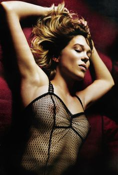 Lea Seydoux Seduces In Lui Magazine Relaunch, Lensed By Mario Sorrenti — Anne of Carversville