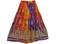 Spring skirts hot sale polychrome
