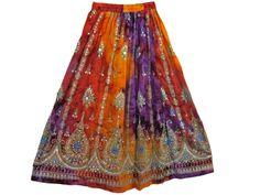 Spring skirts hot sale polychrome