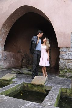 Dirty Dancing Engagement Shooting in Cefalu, Sicily. Concept and Styling: Dragonfly Events Photography: Nunzio Turdo Photography Hair Stylist: Silvana Parrucchieri Model: Blogger Clarice from livinganinspiredlifestyle.com and her beau Custom pink dress: Sara Giglio Vintage Car: Lancia Fulvia 1971 - Mario Musotto