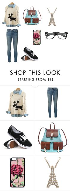 """Gangleaders daughter"" by arialpayne ❤ liked on Polyvore featuring Frame Denim, Vans, Alisa Smirnova, Dolce&Gabbana, women's clothing, women, female, woman, misses and juniors"