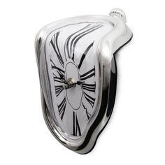 Novelty Salvador Style Hanging Clock Surrealist Irregular Melting Wall Clock New   eBay