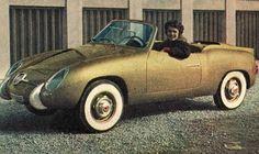 1957 FIAT 750 SPYDER ZAGATO