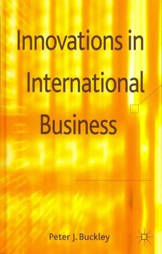 Innovations in International Business