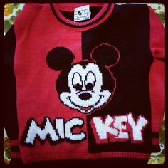 80s kids mickey sweater - I had one