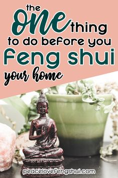 What is the ONE thing you should do before you begin implementing feng shui cures in your home? Learn the one thing you must do before you feng shui. Feng Shui Your Life, How To Feng Shui Your Home, Feng Shui House, Feng Shui Bedroom, Feng Shui Tools, Feng Shui Plants, Feng Shui Wealth, Feng Shui Good Luck, Feng Shui Apartment
