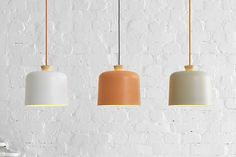Find out now the new Fuse Lamp by Note Design Studio. Fuse lamps are the most recent creation of Note Design Studio for Italian design brand Ex. These porcelain and wood pendant lamps were created w Interior Lighting, Home Lighting, Modern Lighting, Lighting Design, Note Design Studio, Notes Design, Design Blog, Design Design, Design Table