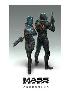 Mass Effect: Andromeda Concept Art Released
