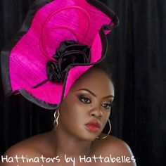 BY NKESE AKINWUNMI  #millinery #hats #HatAcademy