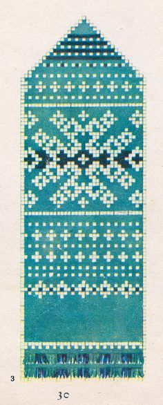 """1957. aasta """"Käsitöö Albumist"""" leiab hunnituid musterid: moes on kõik rahvusromantiline. Kirkad värvid püüavad pilku ning küllap nii mõnigi käsitööhuviline leiab endale siit midagi, mis peagi ka käsi soojendama hakkab! Knitted Mittens Pattern, Knitting Socks, Mitten Gloves, Knitted Hats, Knitting Charts, Knitting Stitches, Knitting Patterns, Crochet Chart, Ganchillo"""