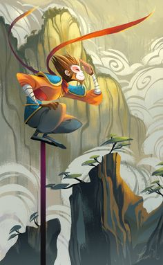Monkey King for Today's @Sketch_Dailies / #sketch_dailies ~~ pic.twitter.com/knFdt9Fe4r