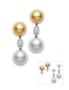 Mikimoto Regalia pearl jewels | Pearl earrings