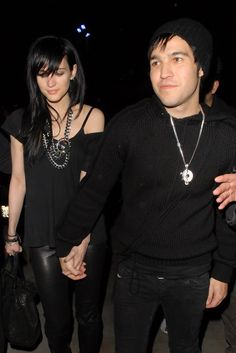 Ashlee Simpson Wentz Long Straight Cut with Bangs - Ashlee Simpson Wentz Long Hairstyles - StyleBistro