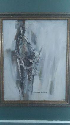 Original Oil Painting by Renowned Nova Scotia Artist Jeannie Edmonds Hancock