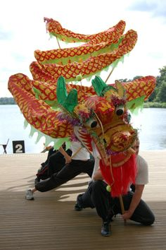 chinese dragon dance   Click