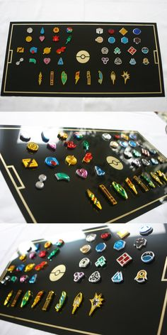Pokemon Gym Badges Collection by blazerdesigns on DeviantArt blazerdesigns.deviantart.com
