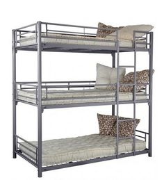 Metal Bedroom Furniture Triple Bunk Bed 999.190.50 - Buy Triple Bunk Beds…