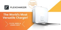 FlexCharger: The Worlds Most Versatile Charger | Indiegogo