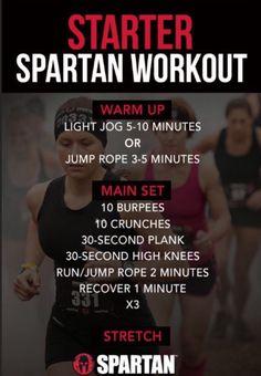 💥Starter Spartan Workout💥 #Health #Fitness #Trusper #Tip