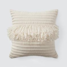 Bailando Pillow Modern Accent Pillow with Fringe – The Citizenry. Diy Pillows, Accent Pillows, Throw Pillows, Modern Pillows, Couch Pillows, Boho Pillows, Cushions, Best Pillows For Sleeping, Diy Home