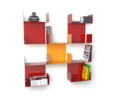 DOBLE  designer: Esprimodesign Studio    #bookcase #book #furniture #office #childroom #living