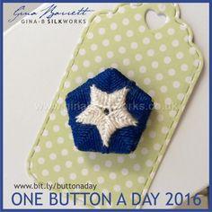 Day 50: Lone Star #onebuttonaday by Gina Barrett