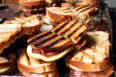Grilled Cheese Sandwich Assortment