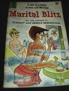 Marital Blitz Text & Cartoons By Stanley & Janice Berenstain Sept 1959 Dell PB