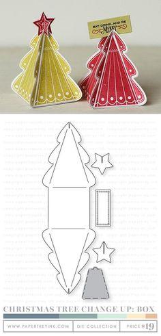 Sapin de Noël 3D en papier - explications en vidéo: