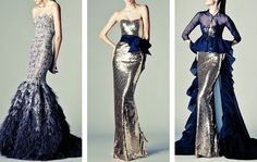 gowns to die for ~ People will stare. Make it worth their while → Rani Zakhem Haute Couture | S/S '13