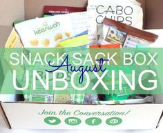 Check out the delicious treats that came in my August Snack Sack box and get 10% off your first box with code FEMME10.  Eat healthy!!