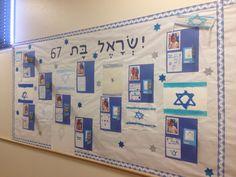 לוח תוכן - יום העצמאות Jewish Art, Photo Wall, Classroom, Frame, Projects, School, Minimalist Tattoos, Life, Home Decor