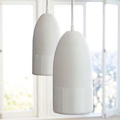 Buoy Pendant – White