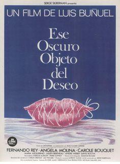 (1977) ~ Fernando Rey, Carole Bouquet, Ángela Molina. Director: Luis Buñuel. IMDB: 8.0 | France-Spain | Criterion + (CR) _______________________ https://en.wikipedia.org/wiki/That_Obscure_Object_of_Desire https://www.criterion.com/current/posts/169-that-obscure-object-of-desire https://www.criterion.com/current/posts/895-that-obscure-object-of-desire http://www.slantmagazine.com/film/review/that-obscure-object-of-desire