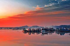 Idyllic. Soraepogu,Korea.
