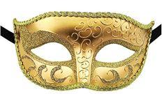 Venetian Adult Mask (More Colors) Mens Masquerade Mask, Venetian Masquerade Masks, Villain Mask, Mardi Gras Costumes, Trendy Halloween, Half Mask, Black Combat Boots, Best Black, Halloween Masks