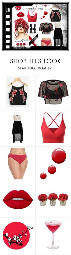 """""""pretty underpinnings"""" by explorer-14673103603 ❤ liked on Polyvore featuring Pilot, Doublju, Nordstrom, Topshop, Lime Crime, Rick Owens, The French Bee, prettyunderpinnings and plus size clothing"""