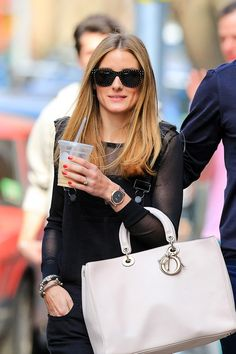 Olivia Palermo's hair color transformation through the years.