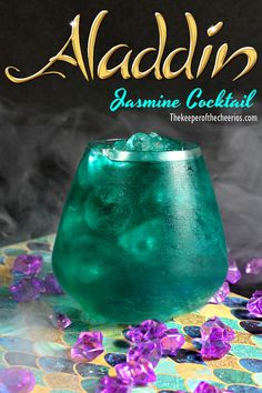 Wishmaker Aladdin Cocktail is a fruity drink recipe all the adults will love. If you remember the excitement of Aladdin coming out back in this cocktail is for you! Disney Cocktails, Cocktail Disney, Cocktail Drinks, Cocktail Tequila, Disney Alcoholic Drinks, Disney Mixed Drinks, Disney Themed Drinks, Cocktail Recipes, Tequila Drinks